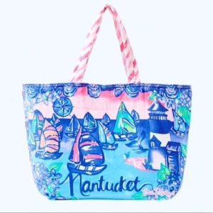 "Lilly Pulitzer Destination ""Nantucket"" Tote"
